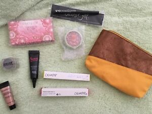 Ipsy items lot of 8 makeup and bag