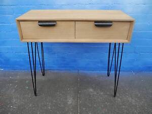 New Timber Style Retro Scandi Hairpin Console Hall Tables Melbourne CBD Melbourne City Preview