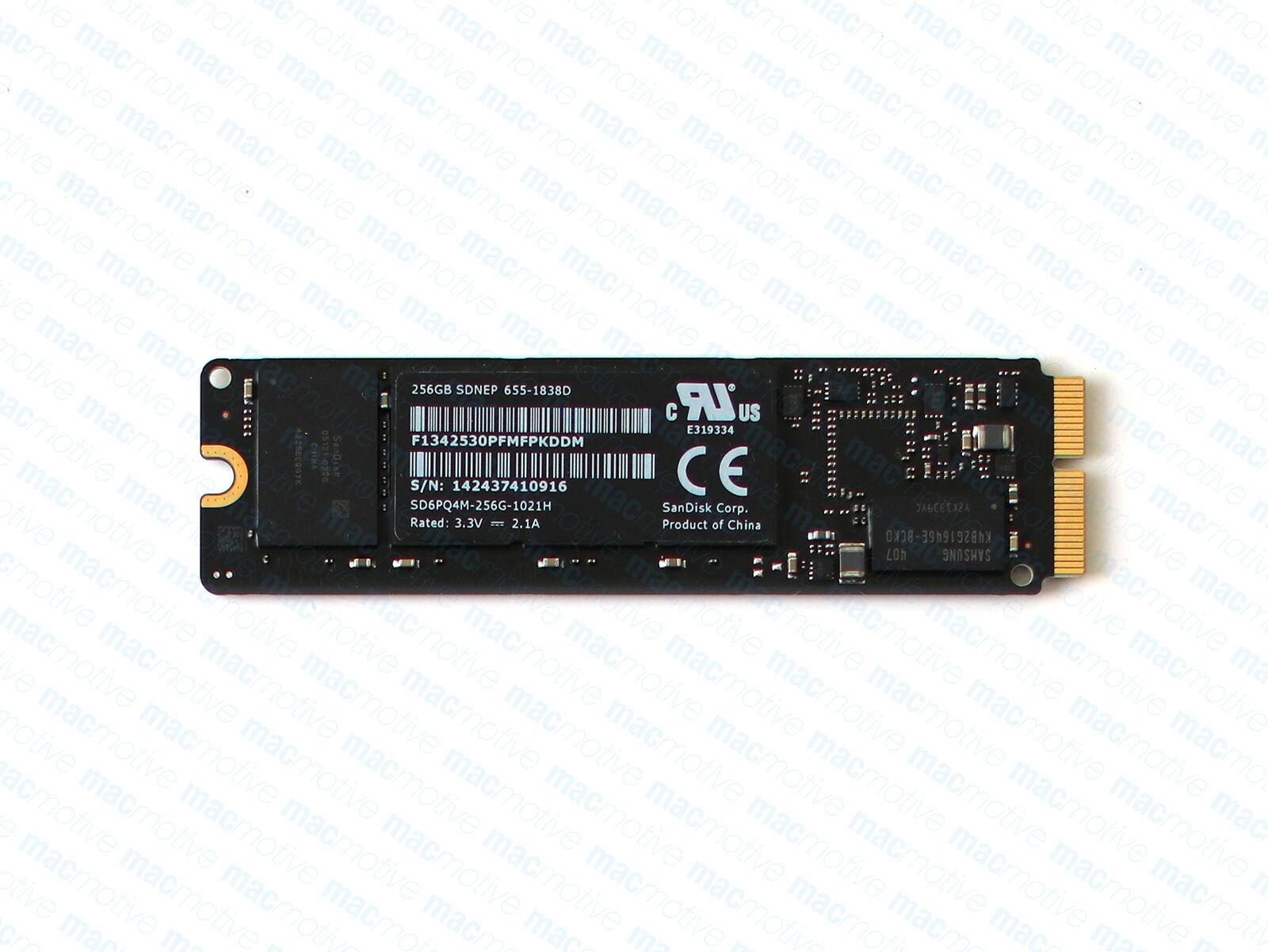 Apple 256GB Flash SSD SSUBX//SM951//JPV256 655-1858 Mac Pro//iMac//MacBook Pro//Air