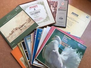 60 Assorted classical records