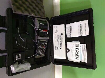 Brady Tls2200 Label Thermal Printer Kit New Battery Bundle.