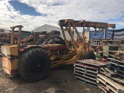 Chamberlain tractor crane 6 tonne