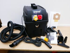 BRAND NEW TREND T35/AL M CLASS WET & DRY VACUUM DUST EXTRACTOR 110V