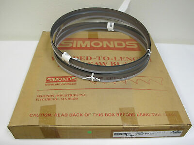 Lot Of 2 New Simonds Epic 12 6 Band Saw Blades 12ft 6 In 1 Wide 64-365500