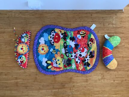 Playgro tummy Time mat with pillow