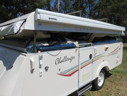 2010 Golf Challenger (Jayco Swan Style) Camper Trailer Marayong Blacktown Area Preview