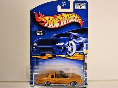 HOT WHEELS MONTEZOOMA 1979 CHEVROLET MONTE CARLO FIRST EDITIONS NEW IN PACKAGE