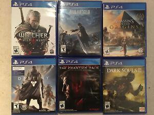 Super jeux PS4