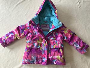 Manteau xmtn pour fille 4 ans