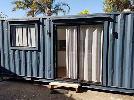 Shipping Container Home 20ft tiny home granny flat teen retreat