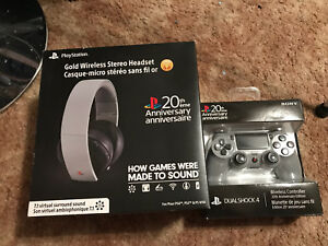 Playstation 4 Controller and Headphones