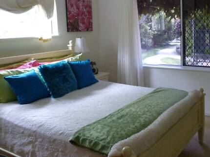Queen size timber bed base