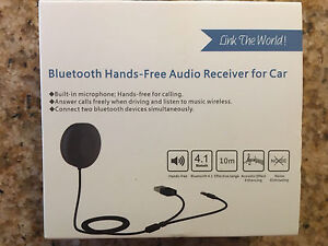Hands free Bluetooth AUX adapter