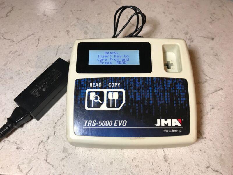JMA TRS 5000 EVO TRANSPONDER CLONING TOOL CLONE TPO5 TPX1TPX1TPX2 TPX4 &TPX5