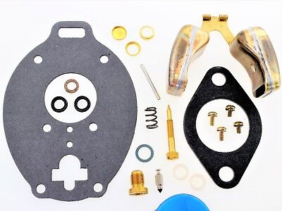 Carburetor Kit Float Fits John Deere Hillside Combine 95 303g32h Tsx929sl F13