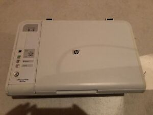 HP printer and scanner all in one