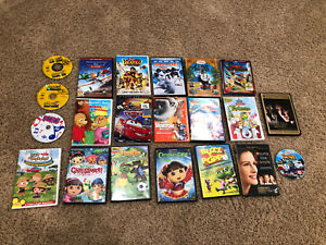 Assortment of dvds for sale