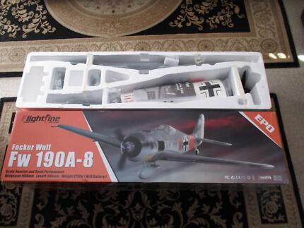Remote control plane RC Flighline FW 190 Spektrum New
