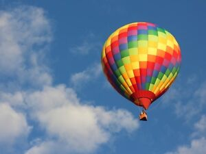 Hot air balloon ride for 2 anytime