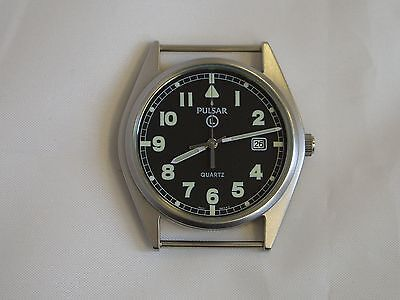 British Army - Military 2009 Pulsar G10 Watch great issued condition