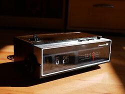 Panasonic Flip Clock Vintage Radio Alarm RC 6002