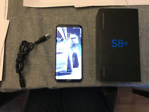Samsung galaxy s8 plus 64 gb black with wireless charger