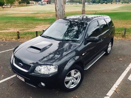 2007 Ford Territory Ghia Turbo 7 Seat SUV Ipswich Ipswich City Preview