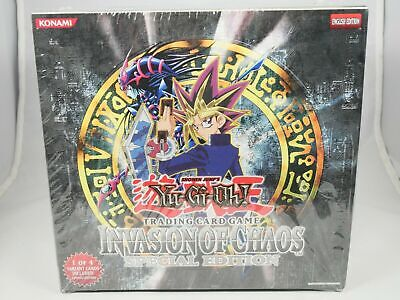 Yugioh Invasion Of Chaos Special Edition Booster Box Factory Sealed Chaos Special Edition Pack