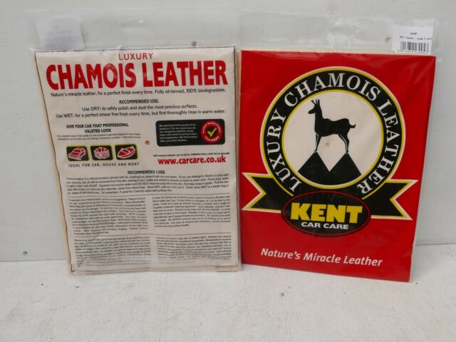 KENT GENUINE CHAMOIS LEATHER B300P APPROX 3 SQ FT