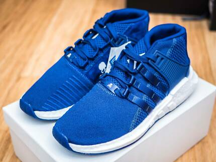 dcbc25933ce34 Adidas x Mastermind EQT Support 93 17 MID Blue CQ1825 Size US 9.5