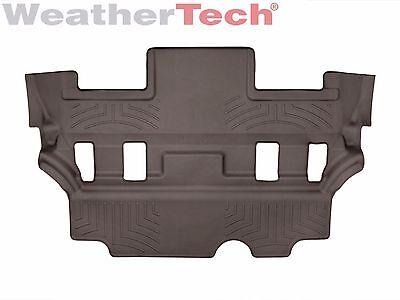 Weathertech Floor Mats Floorliner For Escalade Tahoe Yukon   3Rd Row   Cocoa