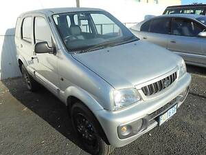 2002 Daihatsu Terios Wagon Devonport Devonport Area Preview