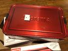 Supreme SIGG Large & Small Mental Storage Box Red