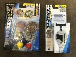 Dual Beyblades & Super grip launcher