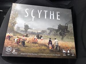 Scythe with board extension