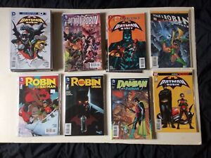 Batman and robin comics (42 Total)