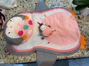 Bright Starts Tummy Time Prop & Play baby mat