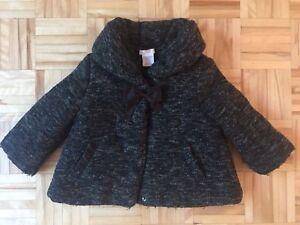 Manteau laine - 12/18m