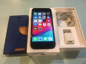 iPhone 7-128Gb Factory Unlocked  With Box,Wallet case& Charger