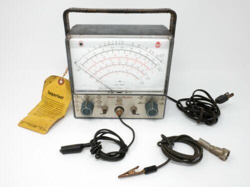 RCA – Vintage USA-Made 1960s Senior VoltOhmyst WV-98C + Probe