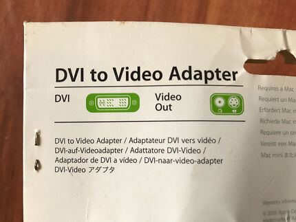 DVI to video adapter kit
