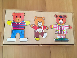 The 3 Bears Puzzle