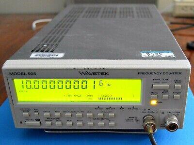 Wavetek 905 Frequency Counter 2.7 Ghz