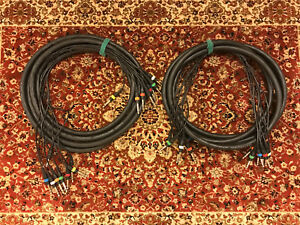 Pro Audio and recording cables