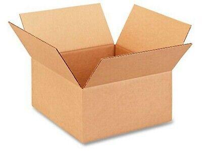 12 X 12 X 12 U-line Cardboard Box 5 Pack 200 Lb. Test