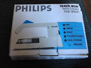 Philips Travel Folding Handle Steam & Spray Dual Voltage IRON