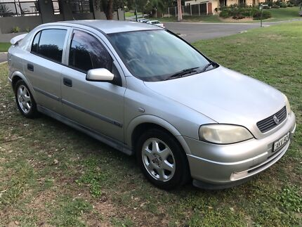 2001 Holden Astra CD 1.8 5 Speed Hatchback