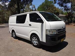 2005 Toyota Hiace Van, Clean & tidy, drives well, rego, BARGAIN. South Granville Parramatta Area Preview