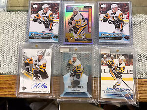 16-17 Jake GUENTZEL Young guns Canvas Auto Rookie Hockey Cards