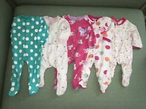 Baby girl wardrobe 3-6/6 month clothes, 54 items